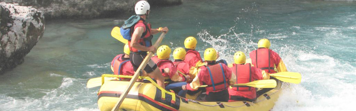 rapid water raft